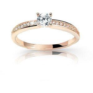 Cutie Jewellery Úchvatný třpytivý prsten Z6713-2523-10-X-4 53 mm