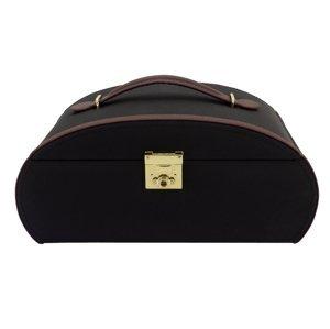 Friedrich Lederwaren Luxusní černá šperkovnice Copenhagen 23338-2