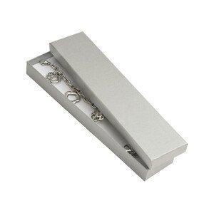 JK Box Dárková krabička na náramek nebo náhrdelník VV-9/AG