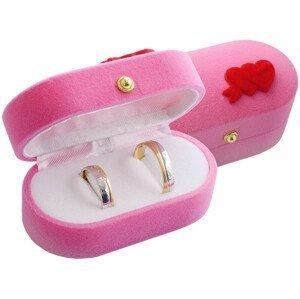 JK Box Dárková krabička na prsteny nebo náušnice FU-210/A5