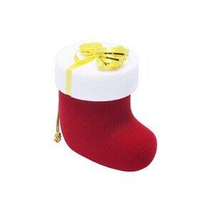 JK Box Dárková krabička vánoční punčocha FU-208/A7