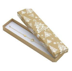 JK Box Vánoční dárková papírová krabička KX-9/AG
