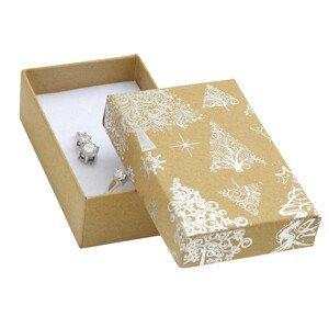 JK Box Vánoční dárková krabička KX-6/AG