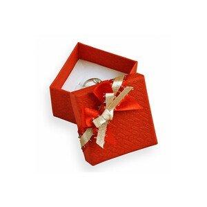 JK Box Červená dárková krabička GS-3/A7