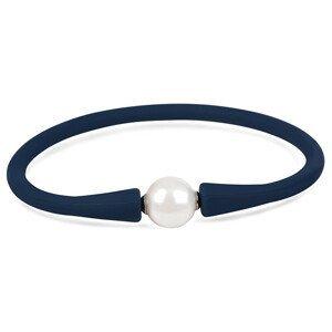 JwL Luxury Pearls Sportovní perlový náramek modrý JL0342
