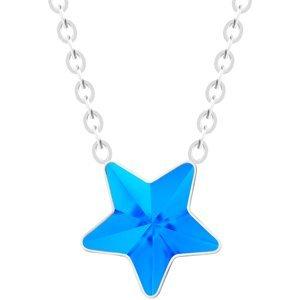 Preciosa Ocelový náhrdelník s hvězdičkou Virgo Akva 7342 67