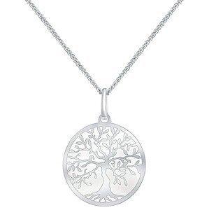 Praqia Stříbrný náhrdelník Strom života KO6006_CU040_45_A_RH (řetízek, přívěsek)