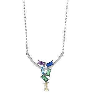 Silver Cat Módní náhrdelník se zirkony SC352