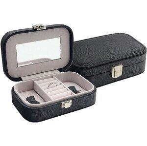 JK Box Černá šperkovnice SP-487/A25 - SLEVA