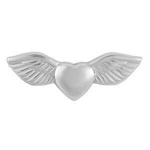 Troli Něžná brož srdce s křídlama KS-229