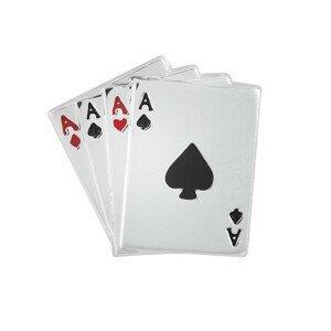 Troli Stylová brož Hrací karty KS-214