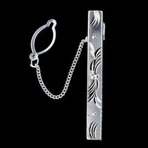 Stříbrná kravatová spona 14739