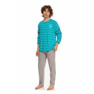 Chlapecké pyžamo 2625 Harry turquoise