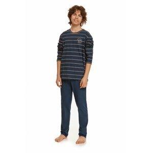 Chlapecké pyžamo 2625 Harry dark blue