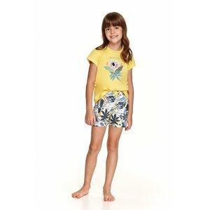 Dívčí pyžamo 2201 yellow