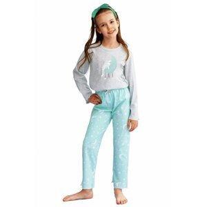 Dívčí pyžamo 2589 grey