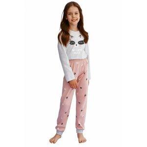 Dívčí pyžamo 2586 grey