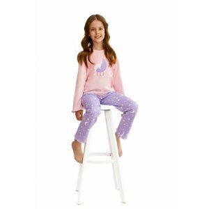 Dívčí pyžamo 2590 pink