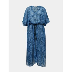 Modrý dámský vzorovaný kaftan BARTS