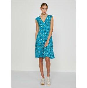 Modré šaty s motivem Blutsgeschwister Shalala Tralala Spirit Of Sahara