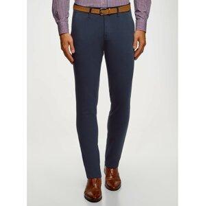 Kalhoty typu chinos s páskem OODJI