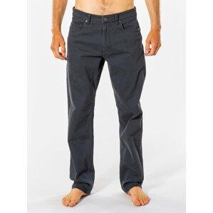 Tmavě šedé pánské kalhoty Rip Curl