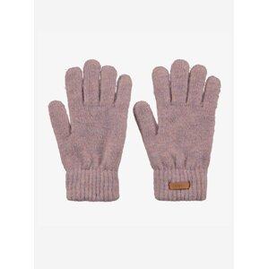 Světle fialové dámské rukavice BARTS