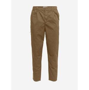Hnědé chino kalhoty ONLY & SONS Dew