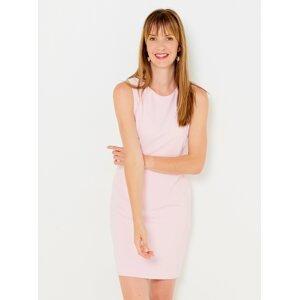 Světle růžové šaty CAMAIEU