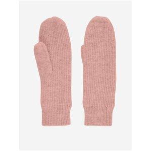 Růžové rukavice Pieces Benilla