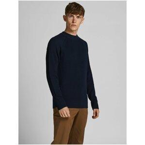 Tmavě modrý svetr Jack & Jones Perfect