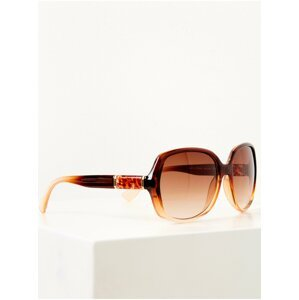 Hnědé sluneční brýle CAMAIEU