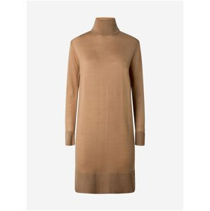 Hnědé dámské svetrové šaty Pepe Jeans Edna