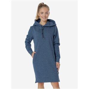 Modré dámské mikinové šaty SAM 73