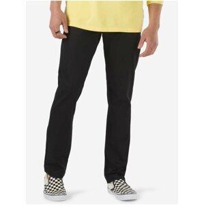 Černé pánské straight fit kalhoty VANS Authentic