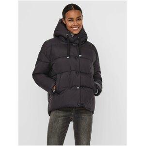 Černá zimní bunda VERO MODA Gemmaholly