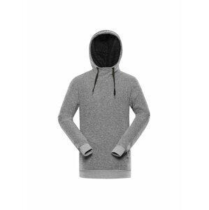 Pánský svetr ALPINE PRO LAUNC šedá