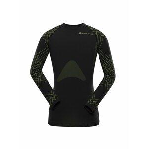 Pánské funkční prádlo - triko ALPINE PRO KRATHIS 6 zelená