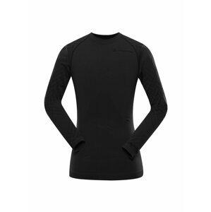 Pánské funkční prádlo - triko ALPINE PRO KRATHIS 6 černá