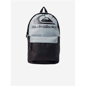 Šedo-černý pánský batoh s potiskem Quiksilver The Poster Logo