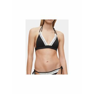 Černý dámský horní díl plavek Calvin Klein Underwear