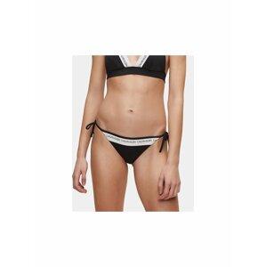 Černý dámský spodní díl plavek Calvin Klein Underwear