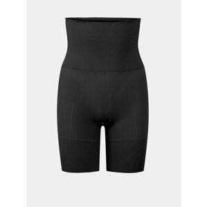 Černé stahovací kalhotky Pieces Bella