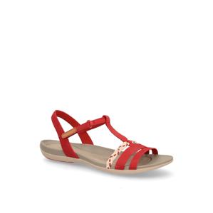 Clarks sandály červená