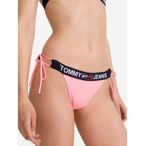 Cheeky String Spodní díl plavek Tommy Jeans Růžová