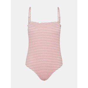 Emily Jednodílné plavky Vero Moda Růžová