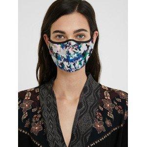 Mask Aquarelle Rouška Desigual Modrá