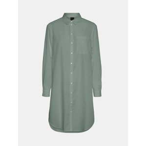Hella Košile Vero Moda Zelená