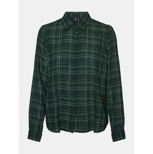 Flo Košile Vero Moda Zelená