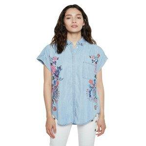 Cam Sullivan Košile Desigual Modrá
